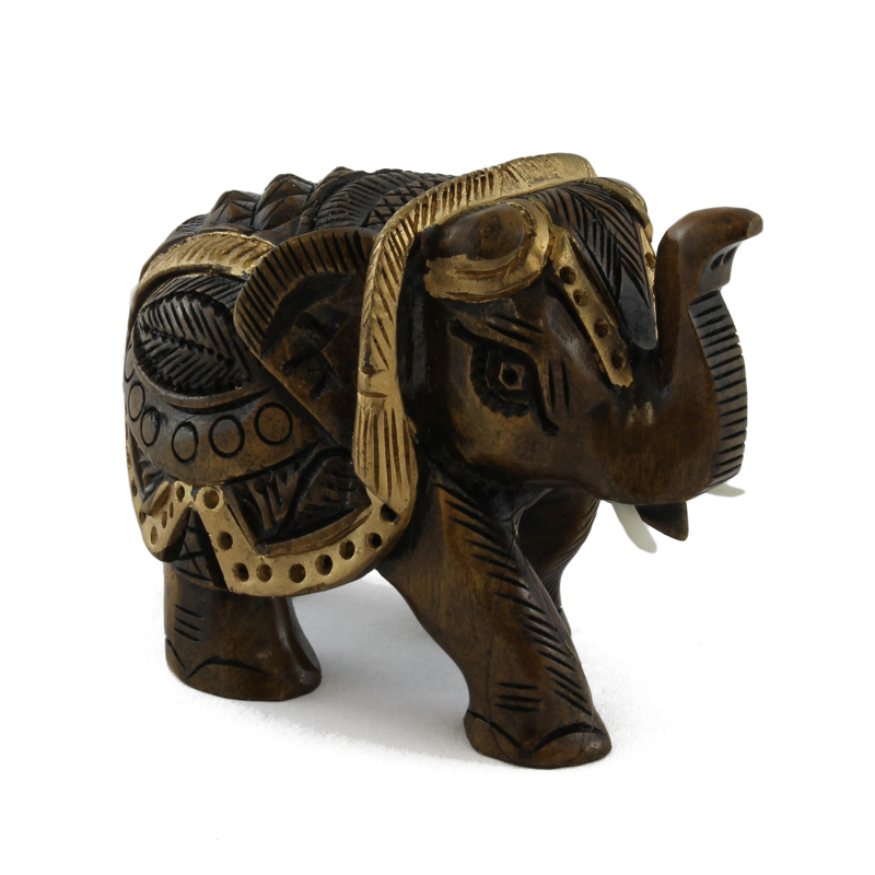 figur goldener elefant taramar esoterik und. Black Bedroom Furniture Sets. Home Design Ideas